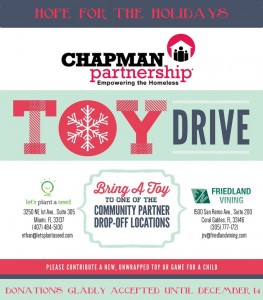 Hope for the Holidays Toy Drive